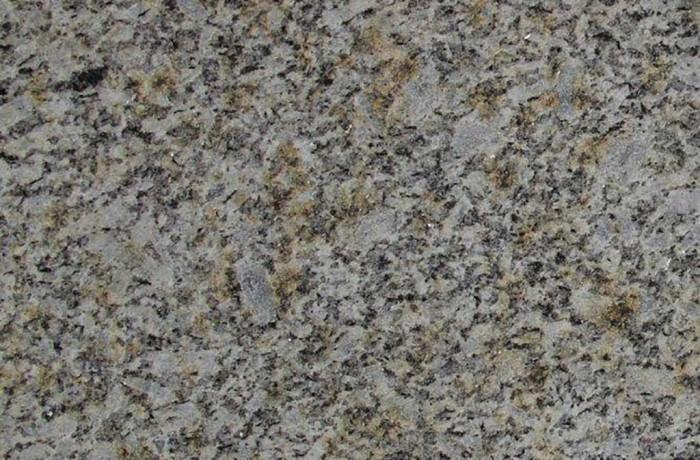 Granit gestrahlt gelbgrau